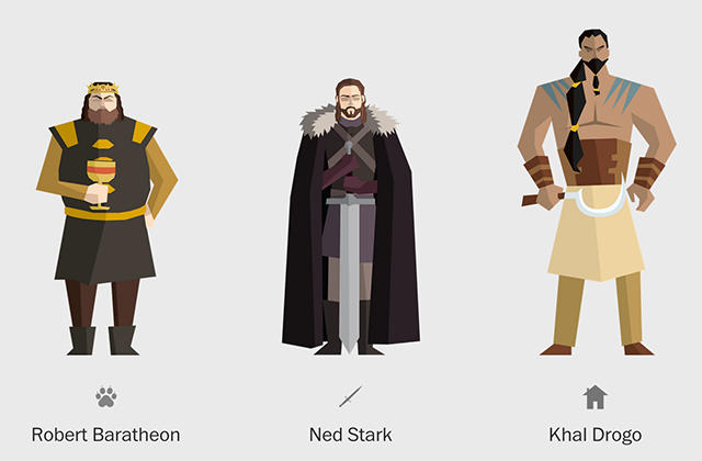 Иконографика к Игре престолов