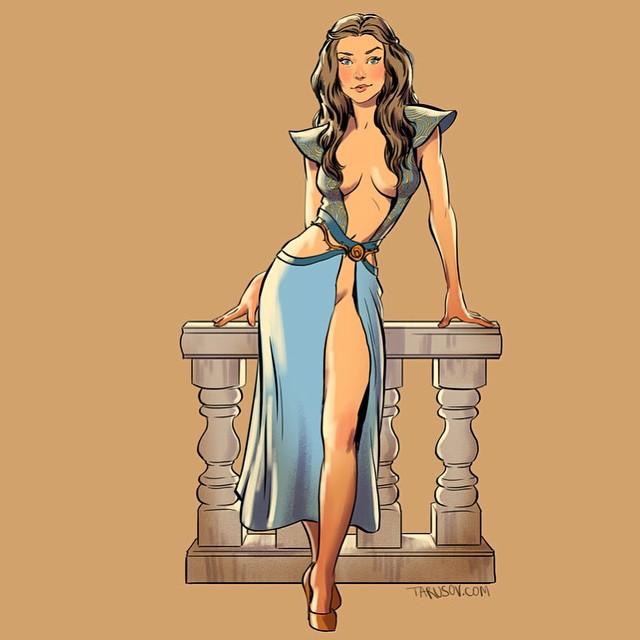 героиня сериала Игра престолов